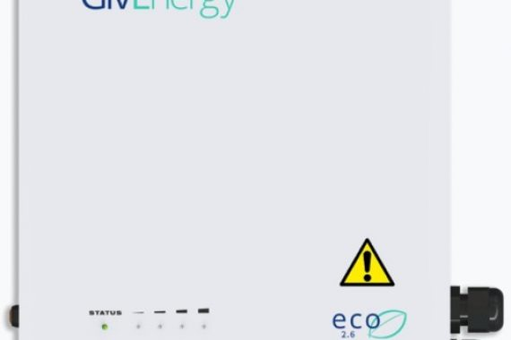 givenergy 2.6kw eco lifepo4 battery