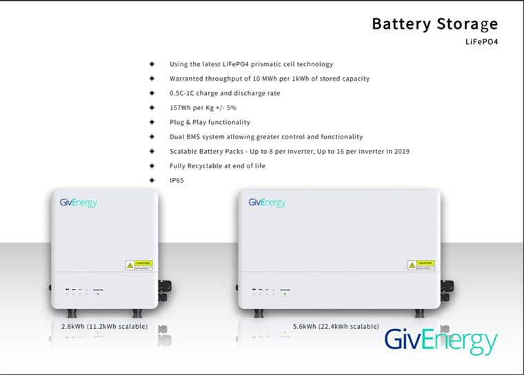 givenergy life p04 battery storage system