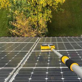solar panel maintenance example